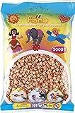 Hama Beutel mit 3000 Bügelperlen Hautfarbe von DAN Import