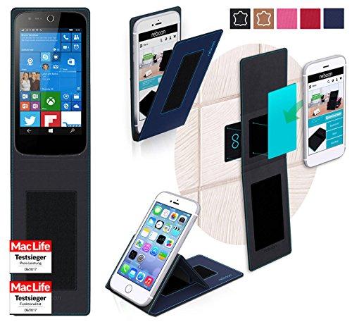 reboon Hülle für Acer Liquid M330 Tasche Cover Case Bumper | Blau | Testsieger