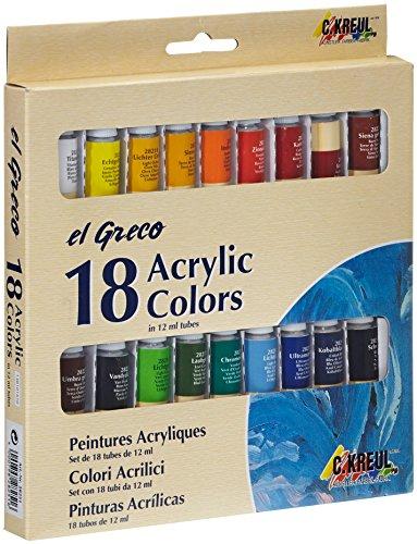 el-greco-28251-pinturas-acrilicas-18-piezas-varios-colores
