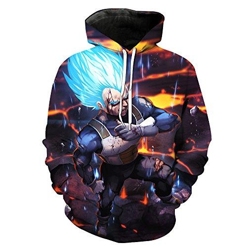 Winter Wonderland-sweatshirt ([Jandz] Hoodie Anime, Cartoon, Manga Design: Naruto, Pokemon, Bleach, One Piece, Dragon Ball (Asian (3XL) → EU (XL), Design: 773))