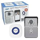 Drahtlose IP-Video-Türsprechanlage Türklingel HD 720P, PNI House 900, P2P, Micro-SD-Steckplatz, Android, iOS gewidmet APP, Bewegungserkennung, senden Alarm Foto per E-Mail