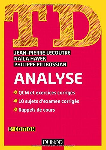 TD Analyse - 6e d.