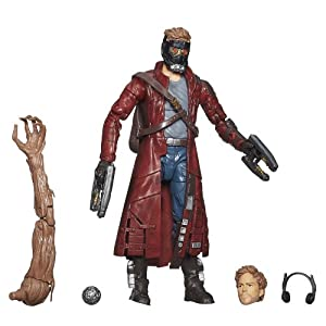 Marvel Guardianes de la Galaxia - Figura Star-Lord 3