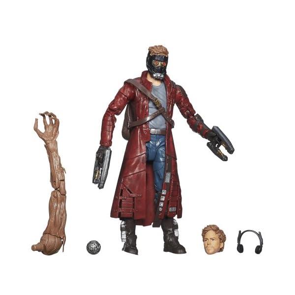 Marvel Guardianes de la Galaxia - Figura Star-Lord 1