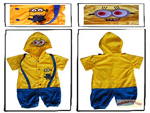 Despicable Me Minion-inspiriertes Babyoutfit 12-18 ()