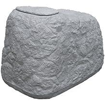 Regentonne / Regenwassertank Findling 500 Liter granitgrau