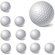 10pcs Nueva PU espuma pelotas de golf interior al aire libre práctica formación ayuda suministros de golf Pelota de golf (blanco)