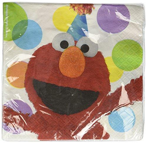 Amscan 220709 Sesame Street Elmo Partei ()
