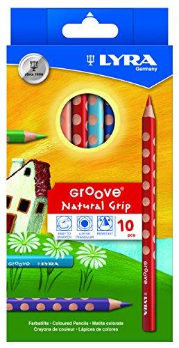LYRA Groove Kartonetui mit 10 Farbstiften, Sortiert