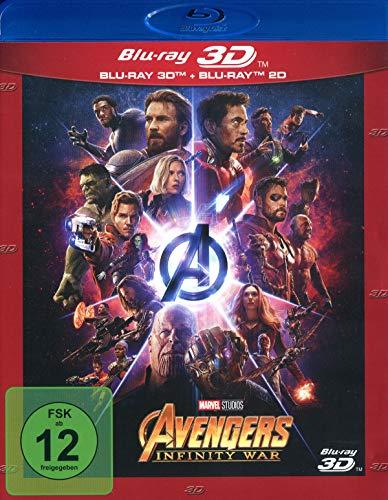 Marvel's The Avengers - Infinity War (+ Blu-ray 2D)