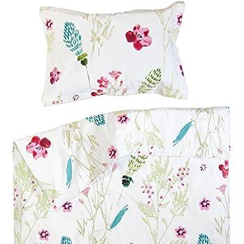 97391454d2938 Sabrina - Pati Chou 100% Coton Linge de lit pour bébé (Taie d oreiller et  Housse de couette 120x150 cm)