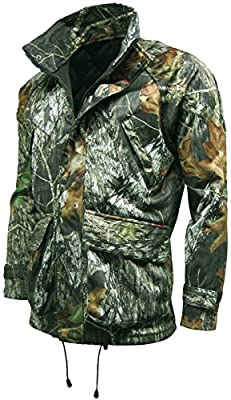 Stormkloth Mens Recon Mossy Oak Camouflage Jacket Waterproof, Windproof & Breathable by Stormkloth