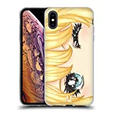 Head Case Designs Vendanges Yeux de Manga Étui Coque en Gel Molle pour iPhone XS Max