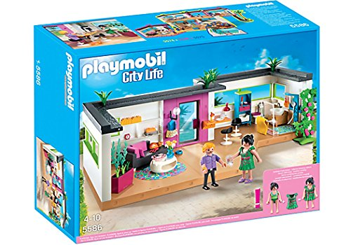 Playmobil - 5586 - Jeu De Construction - Studio Des Invites