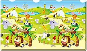 Spielmatte - Dwinugler - Zoo - Medium - 1,9m * 1,3m * 15mm