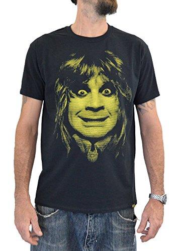 Faces T-Shirt Hombre OZZY Osbourne Bat (M Hombre)