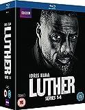 Luther: Series 1-4 (5 Blu-Ray) [Edizione: Regno Unito] [Edizione: Regno Unito]