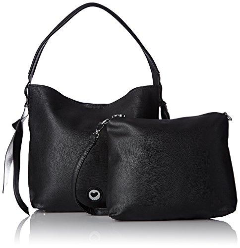 4b88d19504a7c En Venta LOLA CASADEMUNT Bolso negro interior metalizado - Bolso de hombro  para mujer