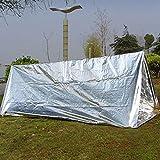 Best Survival Shelter - Tradico® Folding Outdoor Emergency Tent Blanket Sleeping Bag Review