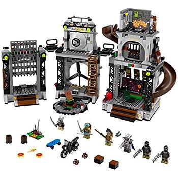 LEGO Ninja Turtles Tm 79117 - L'Invasione Del Covo Delle Tartarughe