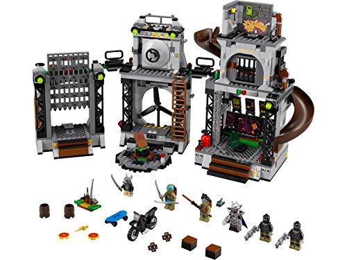 Lego Ninja Turtles 79117 - Angriff auf das (Mädchen Turtle Ninja Das)