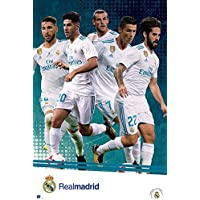 Close Up Póster Real Madrid - Equipo/Jugadores [Temporada 2017/18] (61cm x 91,5cm)