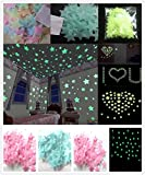 50PC oder 100PC Wandtattoo Leuchtsterne Kinderzimmer Leuchtpunkte für deinen Sternenhimmel