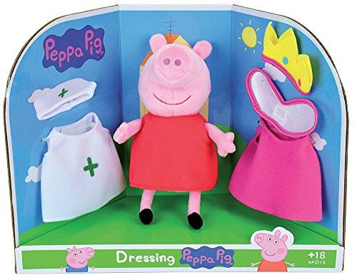 Jemini–Peppa Pig Plüsch zu Passgenau +/-20cm, 023093, -