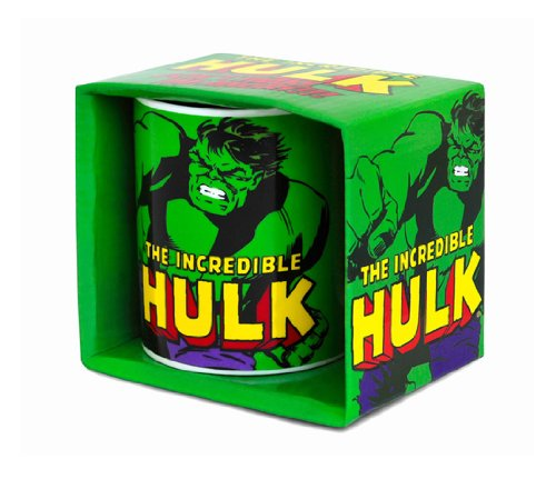 Marvel Comics - Incredible Hulk Porzellan Tasse - Kaffeebecher - grün - Lizenziertes Originaldesign - LOGOSHIRT