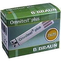 Preisvergleich für OMNITEST Plus Blutzucker Teststreifen 2X25 St