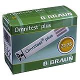 OMNITEST Plus Blutzucker Teststreifen 50 St Teststreifen