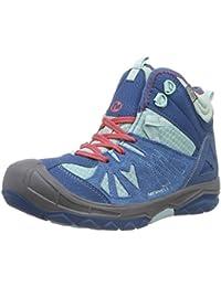 Merrell CAPRA MID WTPF - botas de senderismo de cuero niña