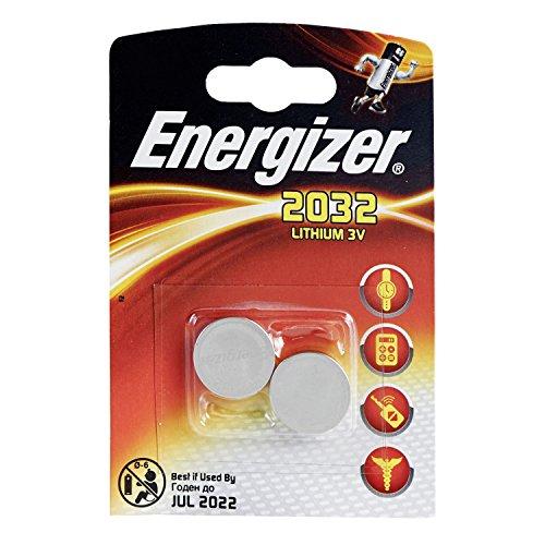 12Stück Batterien Energizer CR2032–6Blister a 2Batterien–Lithium 3V