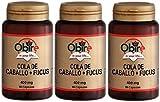 Cola de Caballo + Fucus 400mg 90 cápsulas. Obire. (Pack 3u.)