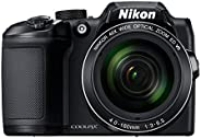 Nikon Coolpix B500 16MP Point and Shoot Digital Camera with 40x Optical Zoom (Black) + HDMI Cable + 16 GB SD Card + Carry Ca