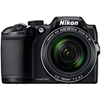 Nikon Coolpix B500 16MP Point and Shoot Digital Camera with 40x Optical Zoom (Black) + HDMI Cable + 16 GB SD Card…