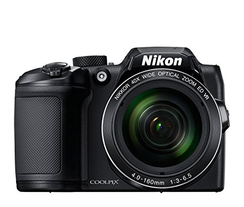 Nikon Coolpix B500 16MP Point and Shoot Digital Camera with 40x Optical Zoom (Black) + HDMI Cable + 16 GB...