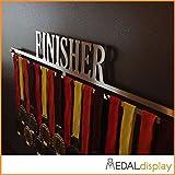 MEDALdisplay Finisher | Porta medaglie/Medagliere da Parete Medal Hanger (600 mm x 100 mm x 3 mm)