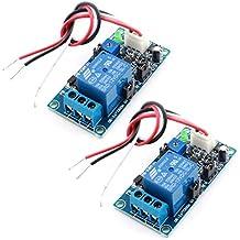 sourcingmap® 2 pezzi DC12V 1 Canale Potenza SPENTO Tempo Di Ritardo Auto Relay PCB Circuito Modulo