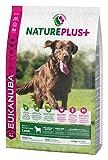 Eukanuba NaturePlus+ Hundefutter für große Rassen – Vollwertiges, natürliches Trockenfutter für ausgewachsene Hunde in der Geschmacksrichtung Lamm – 1 x 2,3kg Beutel