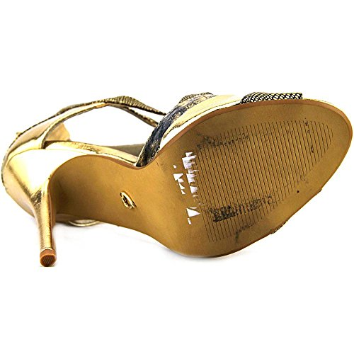 Thalia Sodi Ximena Femmes Synthétique Sandales Metallic Gold
