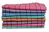 EASJAY Brand Multi-Color Checks Soft Cot...