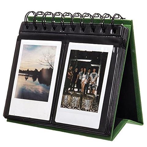 Woodmin 72 Poches Calendrier Album Photo de Fujifilm Instax Mini