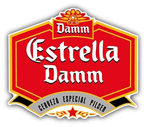 estrella-damm-cerveza-beer-drink-car-bumper-sticker-decal-12-x-10-cm