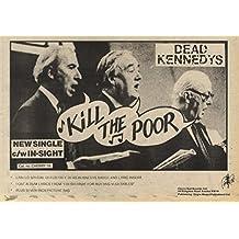 25/10/80Pgn20 Advert: Dead Kennedys Single 'kill The Poor C/w In-sight' 7x11
