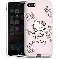 Apple iPhone 7 Silikon Hülle Case Schutzhülle Hello Kitty Merchandise Fanartikel Magnolia