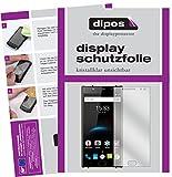 dipos I 4X Schutzfolie klar passend für Oukitel K3 Folie Bildschirmschutzfolie (2X Vorder- und 2X Rückseite)