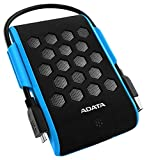 ADATA HD720 1 TB Military Grade Waterproof Shockproof External Hard Drive (Blue)