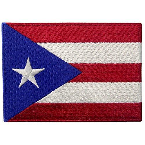 Puerto Rico Flagge bestickt National Emblem Puerto Rica Eisen auf Sew auf Patch -