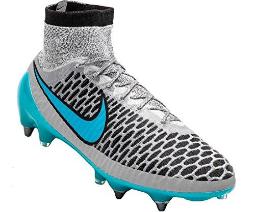 Nike Magista Obra Sg-pro, scarpe da calcio, da uomo, Grigio (grey - grey), 39 EU